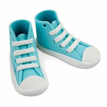 Figur Zucker Blue Sneakers für Kuchen