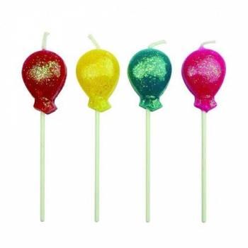8 Kerze Pics Ballons