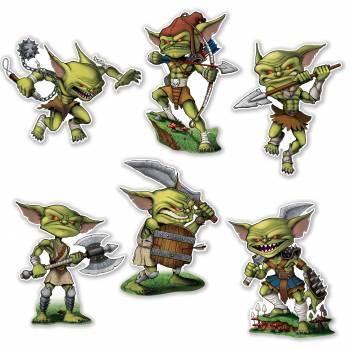 6 Goblins décors