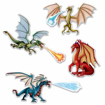 7 Drachen-Dekor