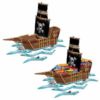 herzstück tishdeko zum Ausstatten Piratenboot