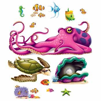 Wanddekoration Kreaturen der Ozeane