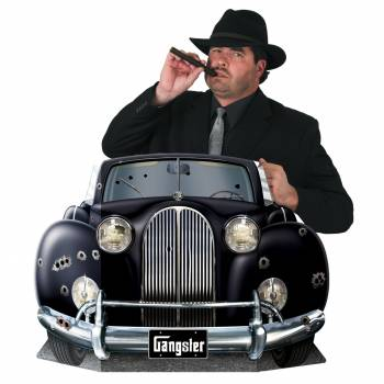 Fotobooth rahmen-Auto Gangster