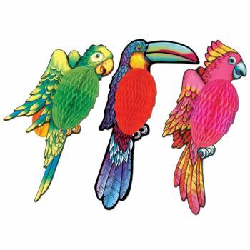 Dekor 3D Papagei