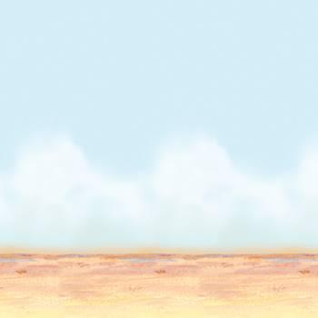 Leinwand Wand-Atmosphäre Himmel des Deserts