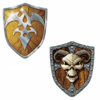 2 Schild-Dekore