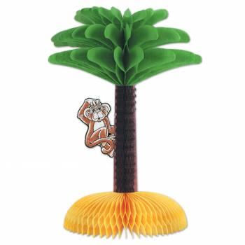 herzstück tishdeko Palme mit Affe