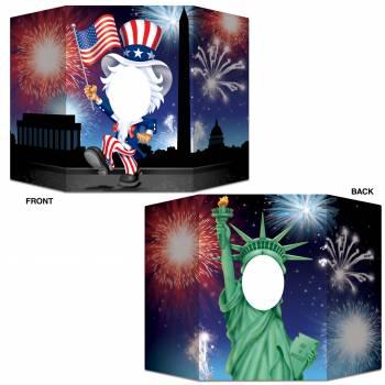 Fotobooth rahmen USA
