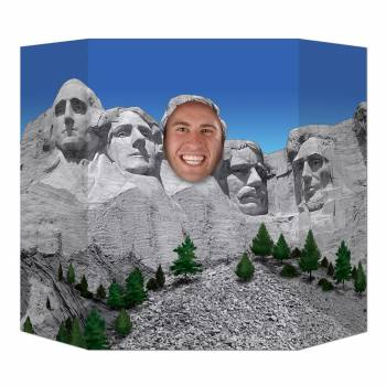 Fotobooth rahmen USA Mont Rushmore