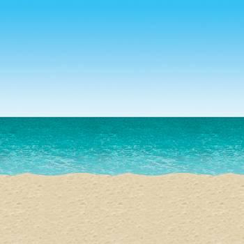 Wanddekorationen strand und meer