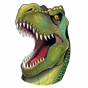 Kopf dekoriert Dinosaurier