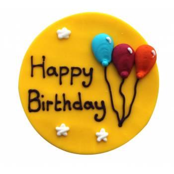 Zucker figur Happy Birthday zirkus