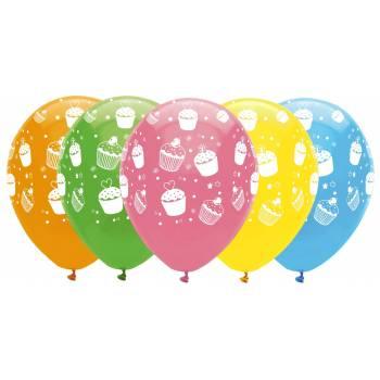 Luftballons cupcakes