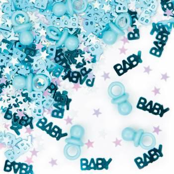 Tischkonfetti totoche baby boy
