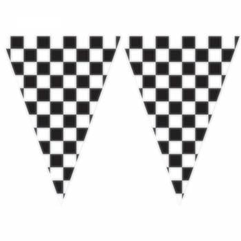 WimpelGirlande Racing Party 6 Meter