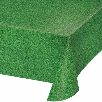 Kunststoff Tischdecke Rasen