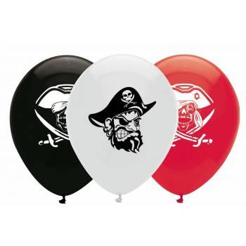 Ballons Latex Piraten
