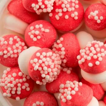 Rote Pilze aus Zucker 80gr