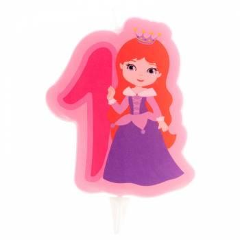Kerze Nr. 1 Prinzessin