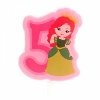 Kerze Nr. 5 Prinzessin