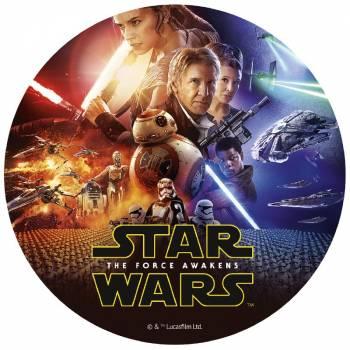 Tortenaufleger dekor Star Wars 20cm