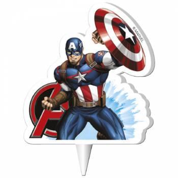 2D Kerze Captain America