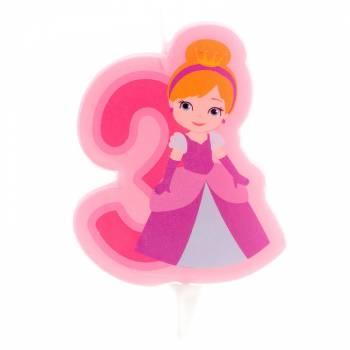 Kerze Nr. 3 Prinzessin