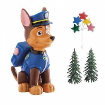 Paw Patrol Chase Tortenfiguren