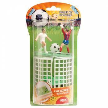 Kunststoff-Kit Fussballer Tortenfiguren