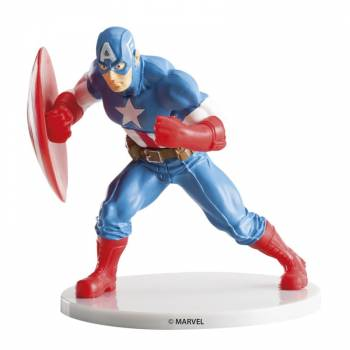 Tortenfigur Captain america