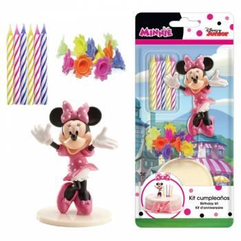Deco-Kit für pvc Kuchen Minnie