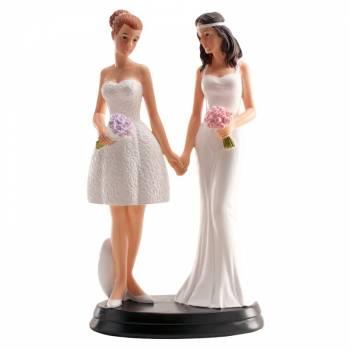 braut Romantisch schwul figuren für Hochzeitstorte 20 cm