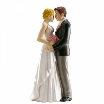 Lovers figuren für Hochzeitstorte 16 cm