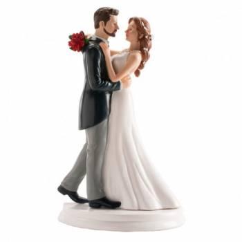 braut walzer figur für Hochzeitstorte 21 cm
