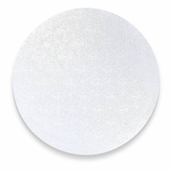Sohle mit silbernen runden Kuchen 4 mm