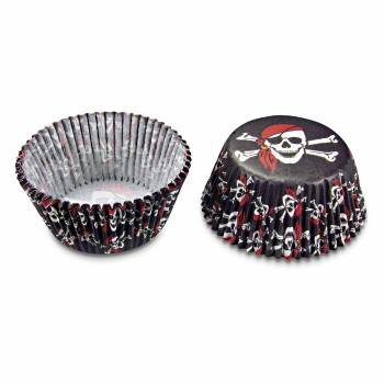 50 Mini-Cupcakes Pirate