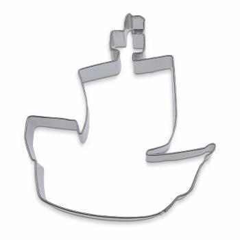 ausstechform das Stück Piratenboot