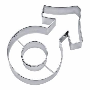 ausstechform die Münze männliches Zeichen