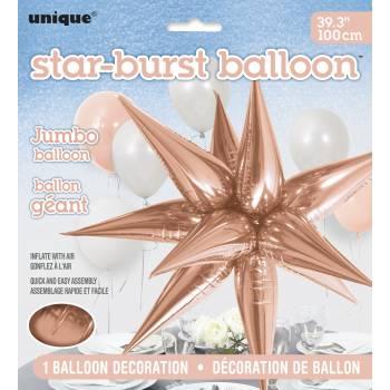 Luftballon Jumbo-Stern gold