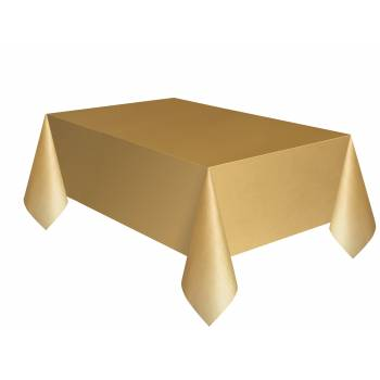 Tischtuch Gold Rechteck
