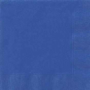 20 Servietten blau