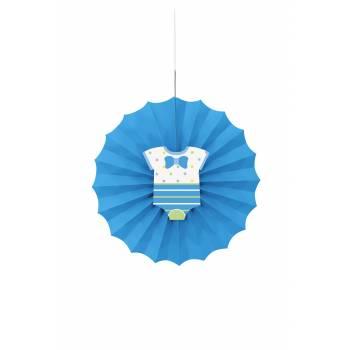 Aufhängung baby shower blau