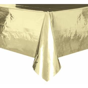 Tischdecke aus glänzendem Gold