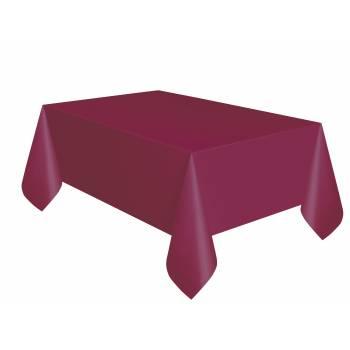 Tischtuch rechteck bordeaux