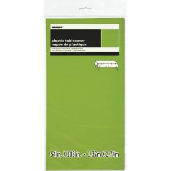 Grüne Leuchtstoff-Kunststoff-Tischtuch