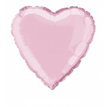 LuftBallon Helium Herz rosa