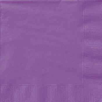 20 Servietten hell lila