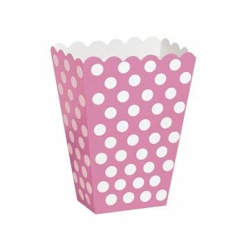 8 Pop Corn boxen Rosa