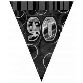 Flaggen 90 Jahre Black/White