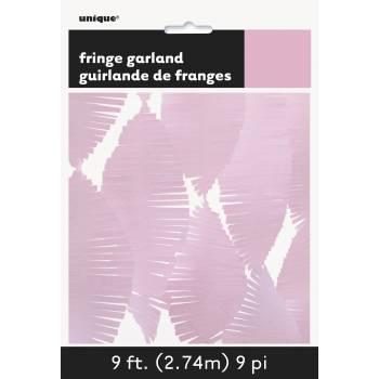 fransengirland rosa